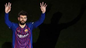 Gerard Pique FC Barcelona 20052018