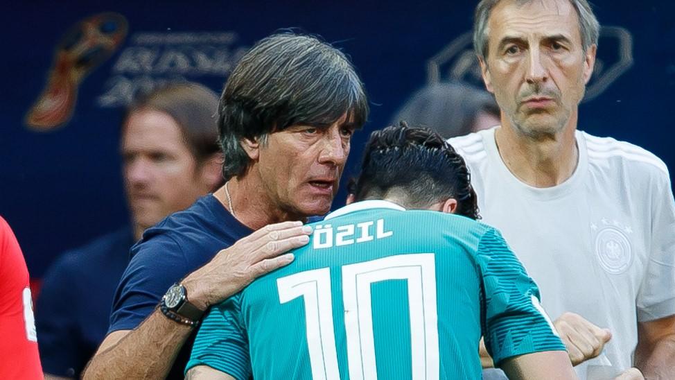 Joachim Low Mesut Ozil Germany South Korea 27062018