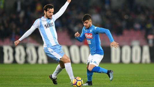Marco Parolo Lorenzo Insigne Napoli Lazio Serie A