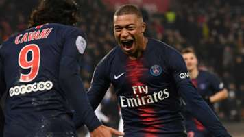 Kylian Mbappe PSG Paris Saint-Germain 2018-19