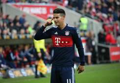 James Rodriguez Bayern Munich Mainz 03022018