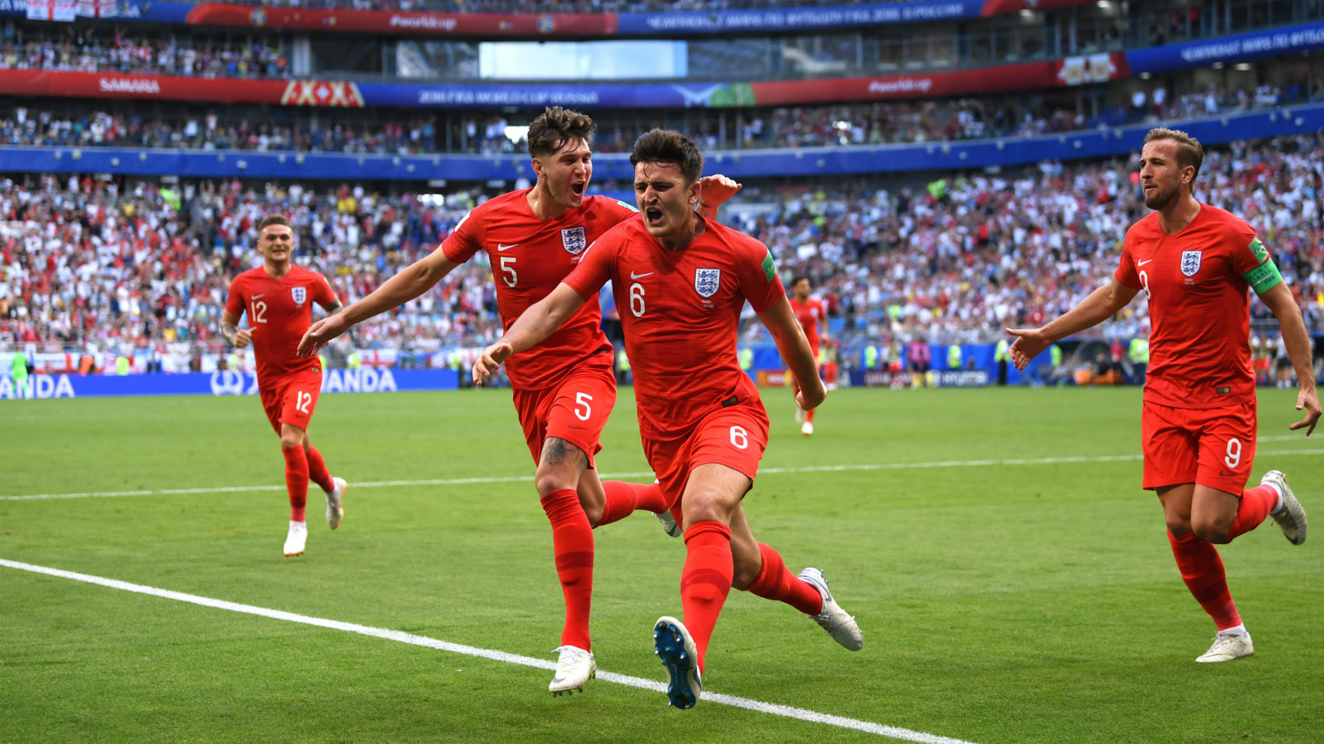sweden england - maguire - world cup - 07072018