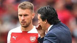 Aaron Ramsey Unai Emery Arsenal