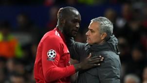 Romelu Lukaku Jose Mourinho Manchester United