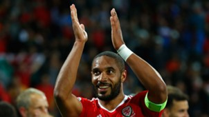 Ashley Williams Euro 2016 Wales v Belgium