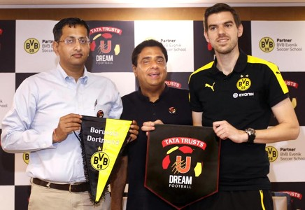 Tata Trusts U Dream Football announces its partnership with Borussia Dortmund