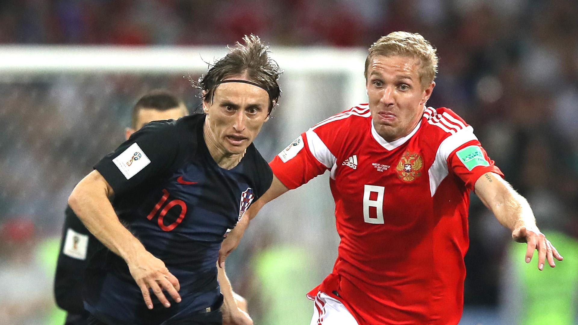 Luka Modric Iury Gazinsky Russia Croatia World Cup 2018 070718 674127d9a