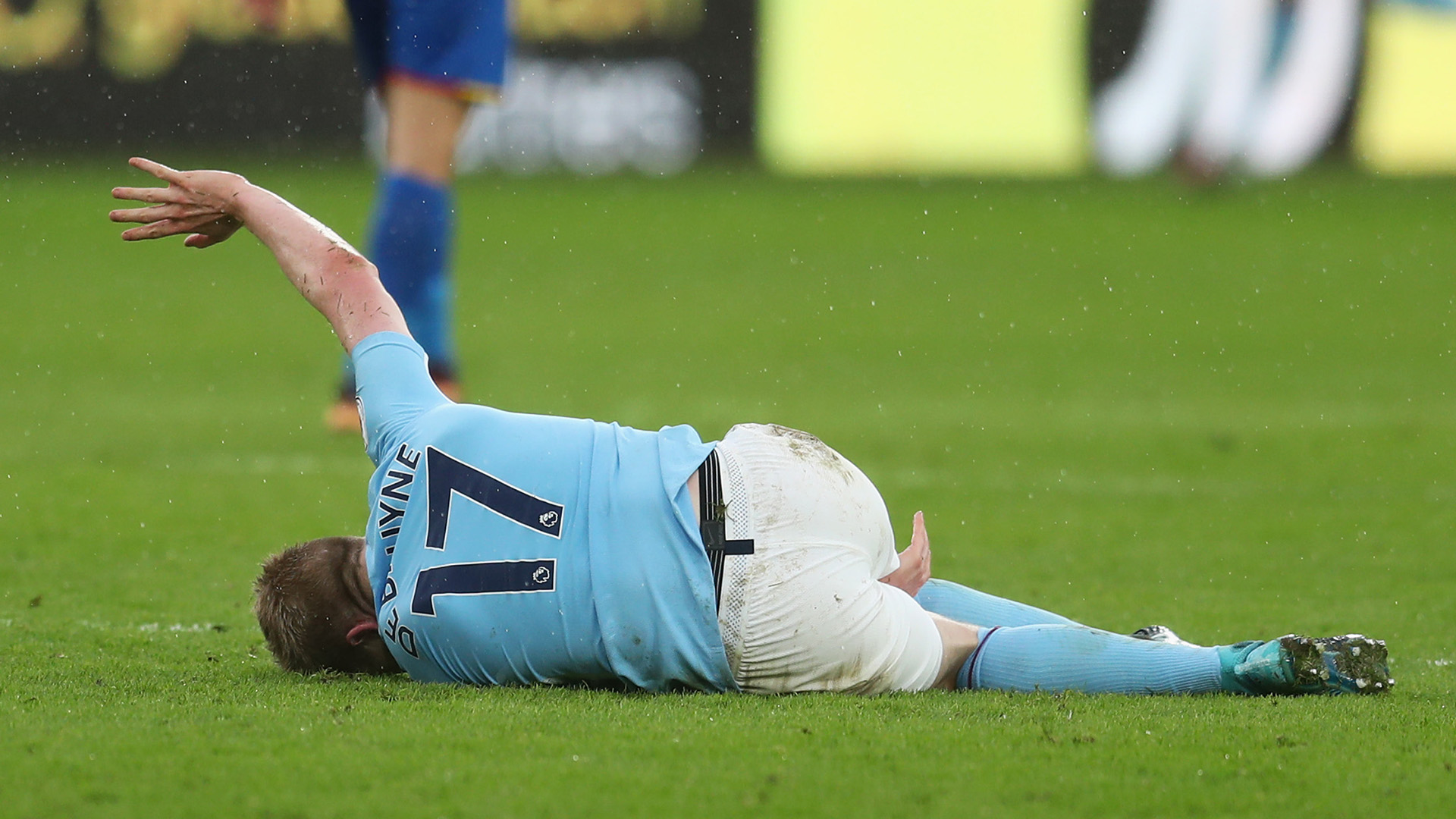 Kevin De Bruyne Manchester City Crystal Palace