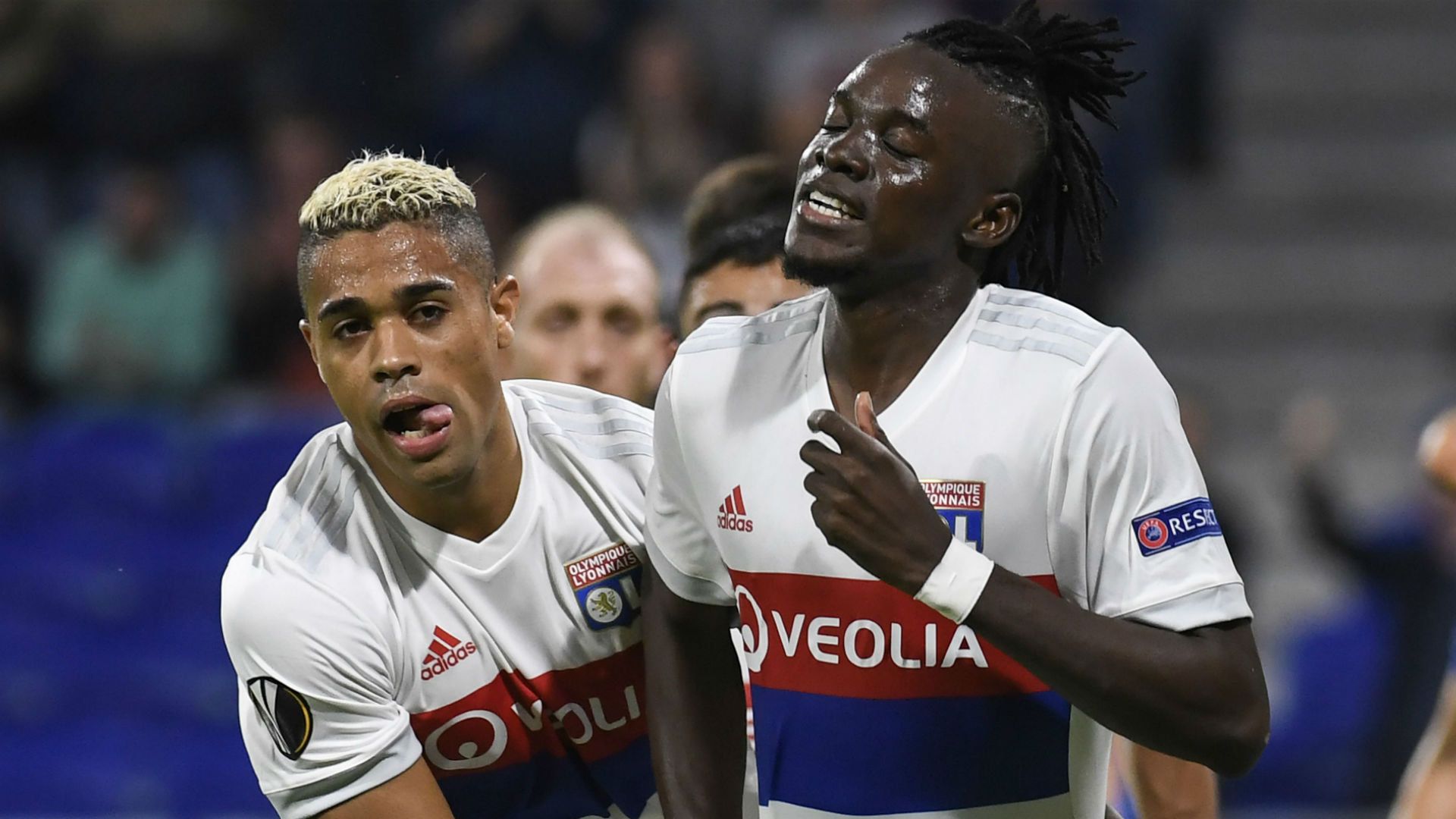 Bertrand Traore Mariano Diaz Lyon Atalanta UEFA Europa League 29092017