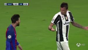 Messi Mandzukic Juventus Barcelona UCL 11042017
