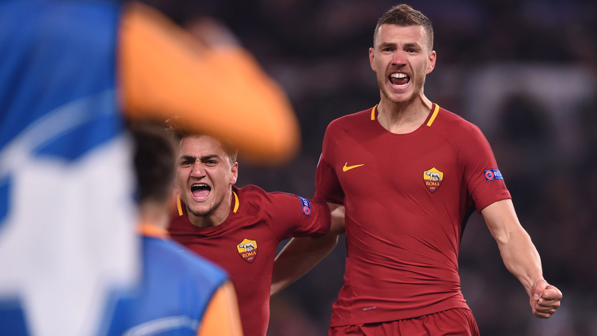 Edin Dzeko Roma Shakhtar Champions League