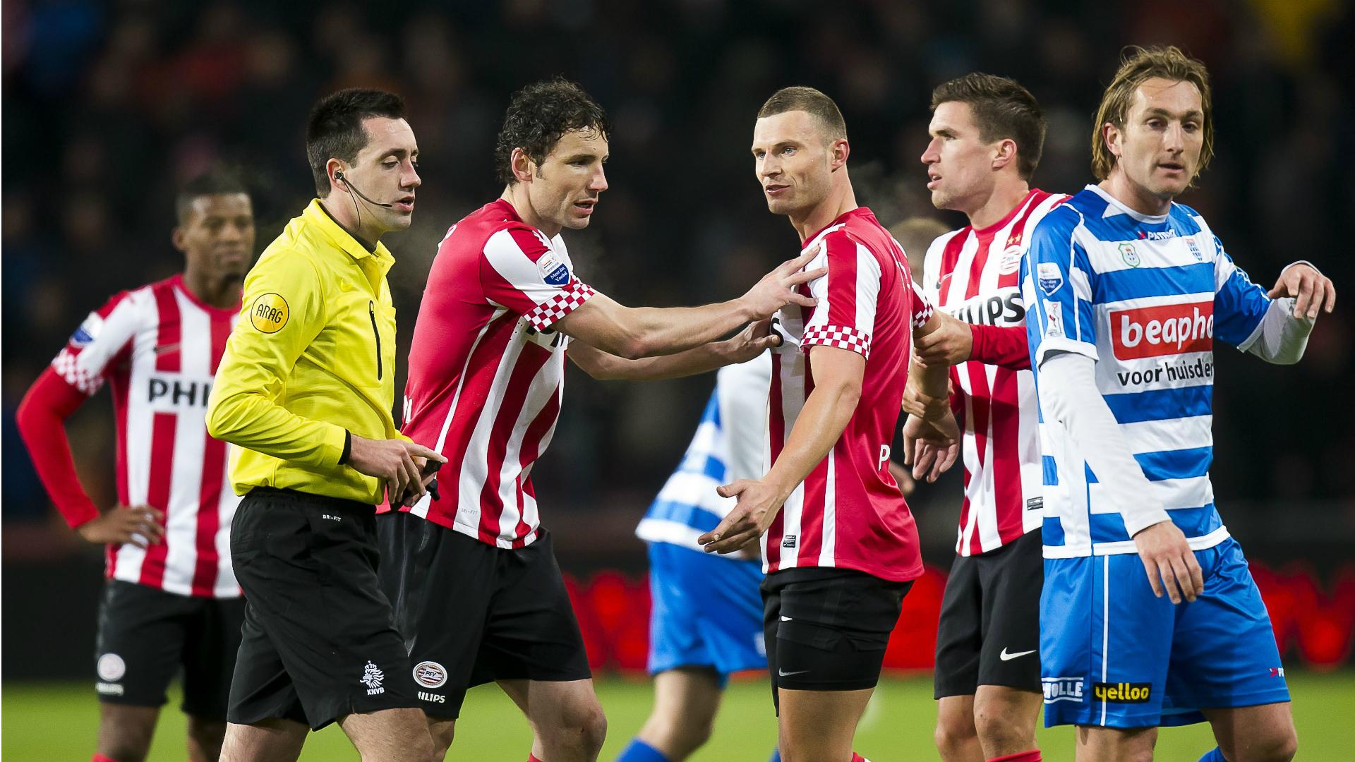 Erik Pieters, PSV - PEC Zwolle, Eredivisie 01182017