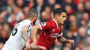 Philippe Coutinho Liverpool Burnley