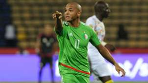 Yacine Nasr Brahimi of Algeria during the Afcon Group B match between Senegal.