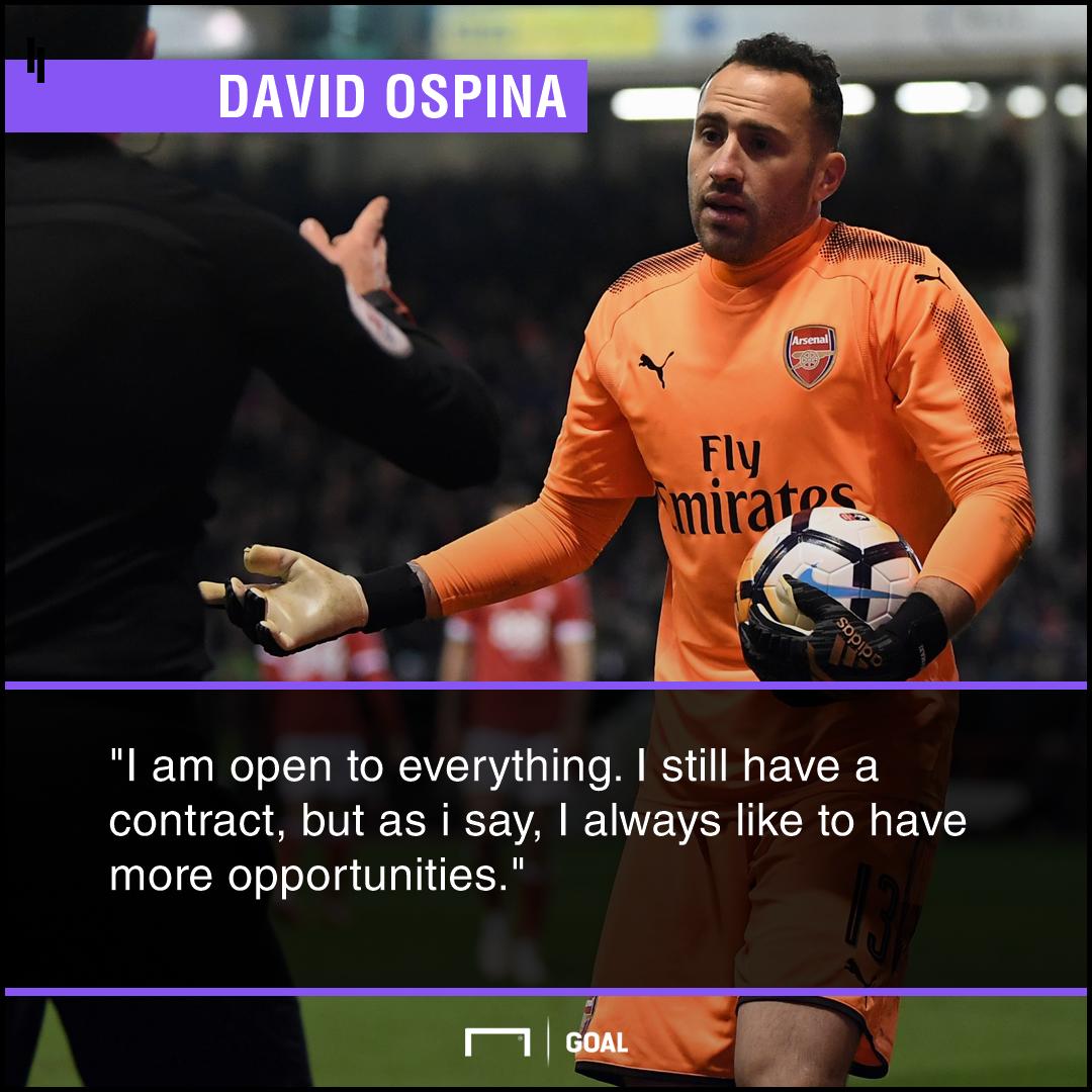 David Ospina Arsenal future