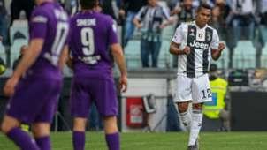 Alex Sandro Juventus Fiorentina Serie A