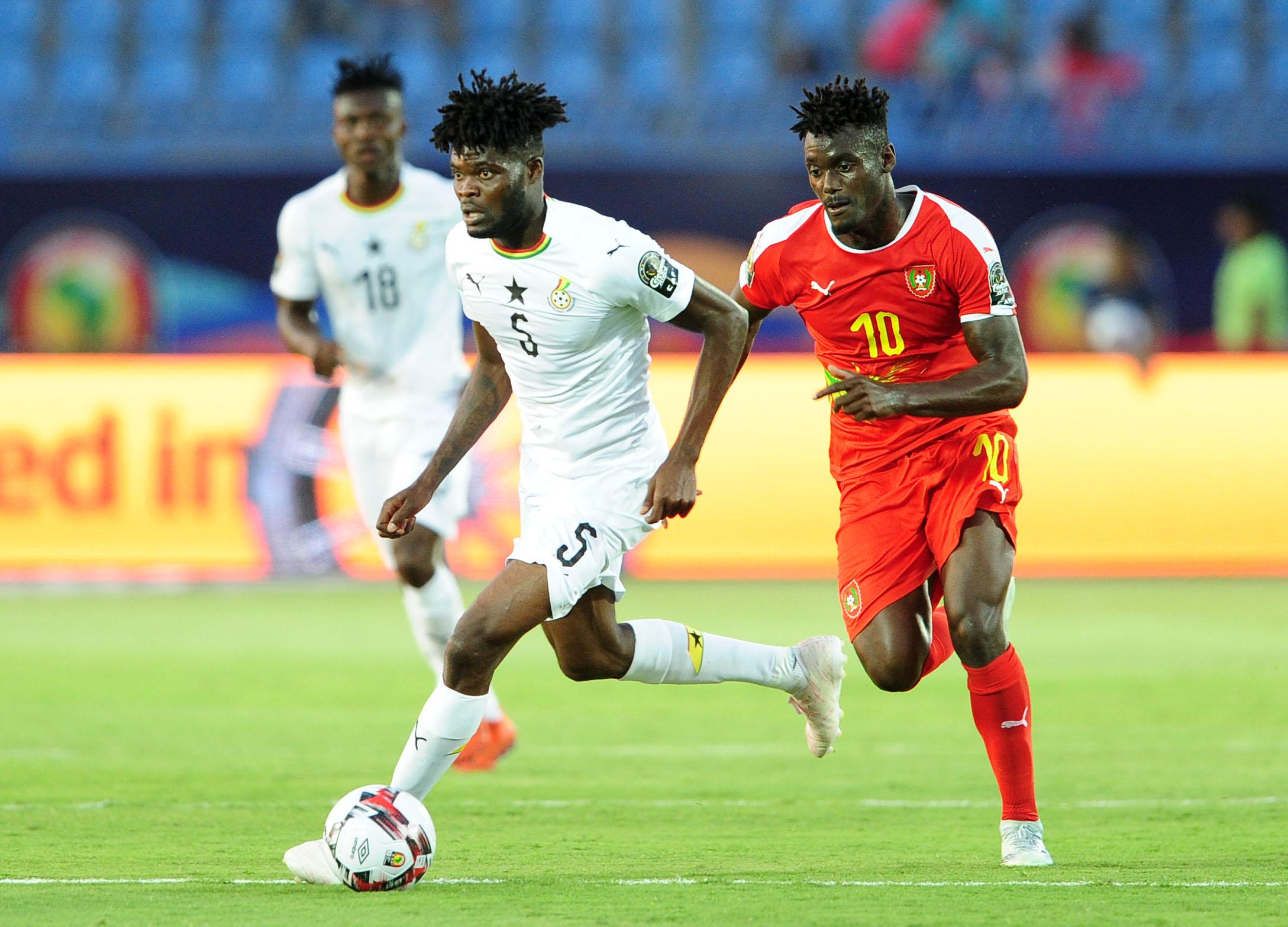 Thomas Partey Ghana Guinea Bissau
