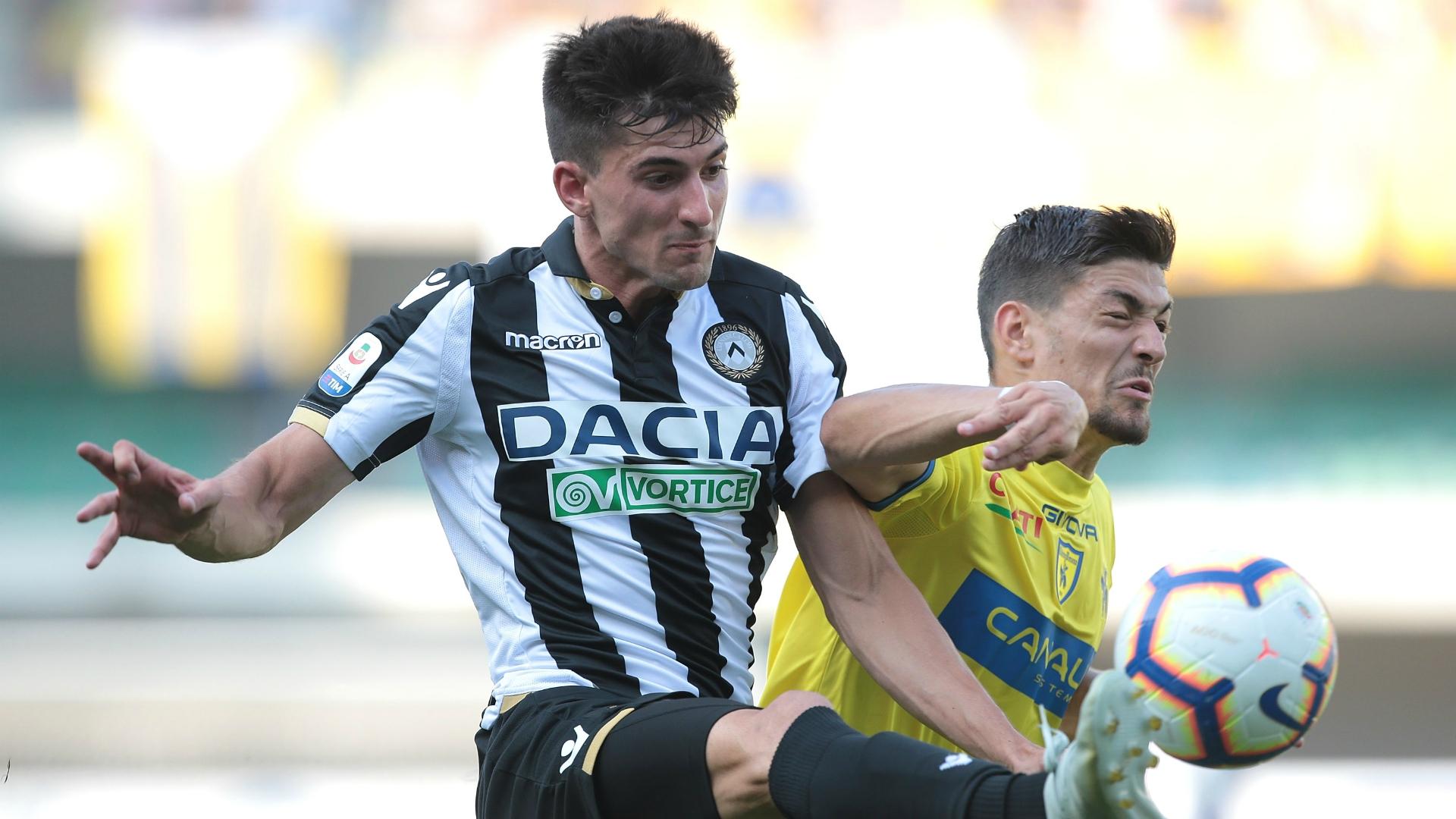 Federico Barba Ignacio Pussetto Chievo Udinese Serie A 09232018