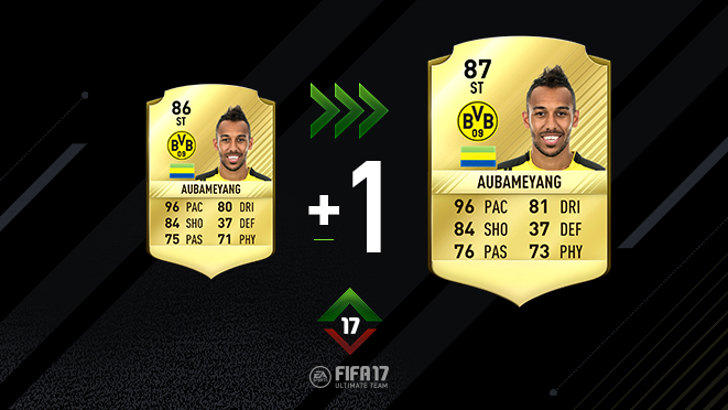 FIFA 17 Upgrades Auba