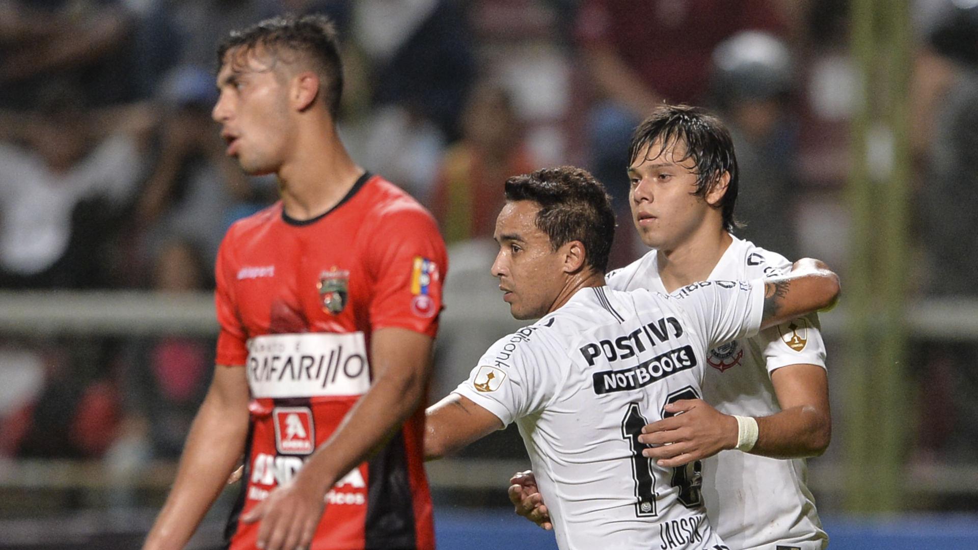 Jadson Angel Romero Deportivo Lara Corinthians Copa Libertadores 17052018
