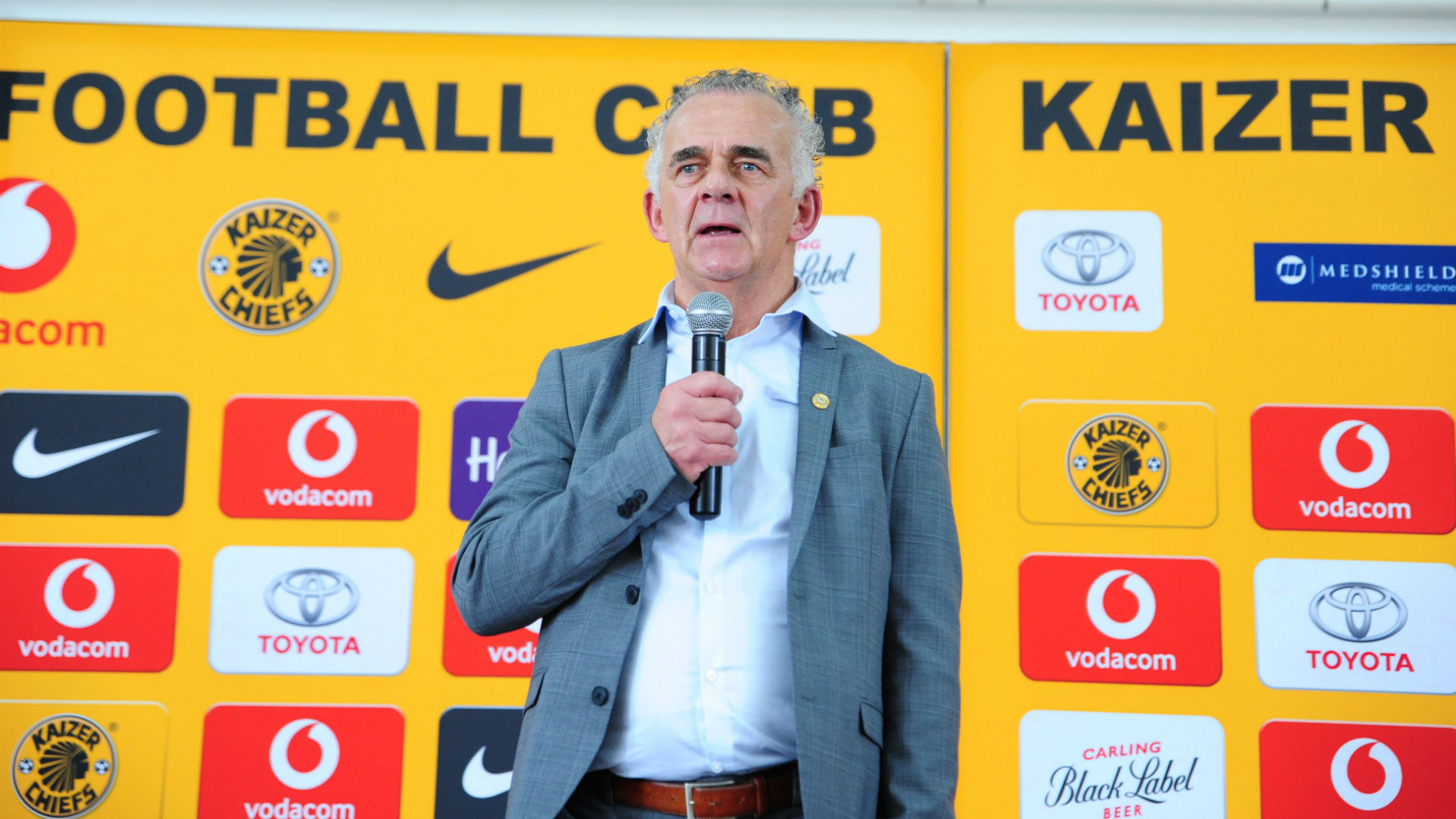 Rob Hutting of Kaizer Chiefs