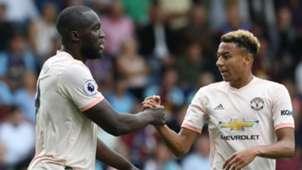 Romelu Lukaku Jesse Lingard Manchester United