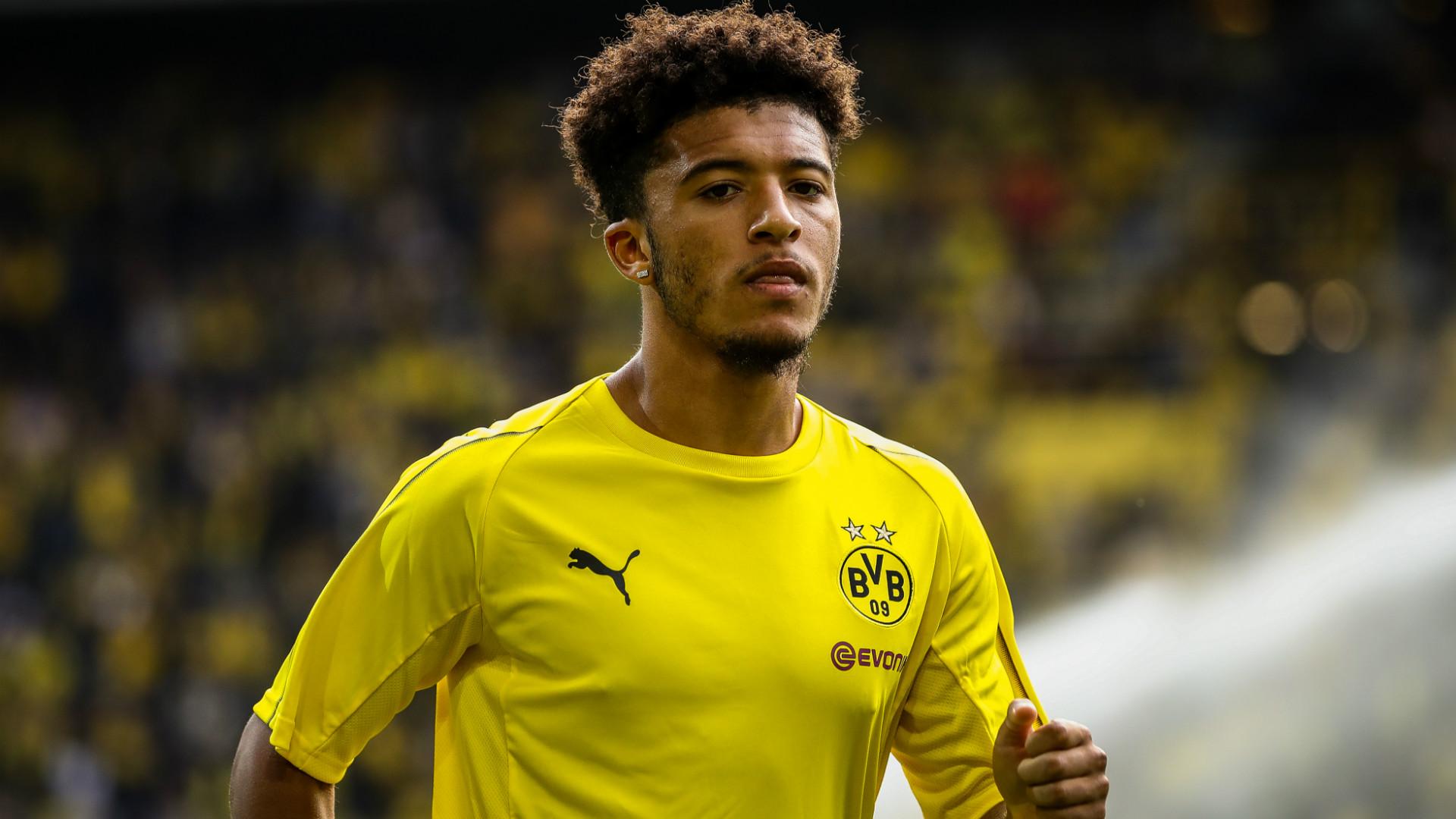 Jadon Sancho Borussia Dortmund 26082018