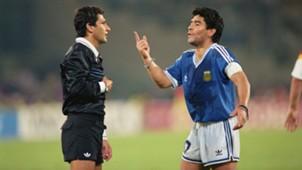 Maradona Argentina 1990