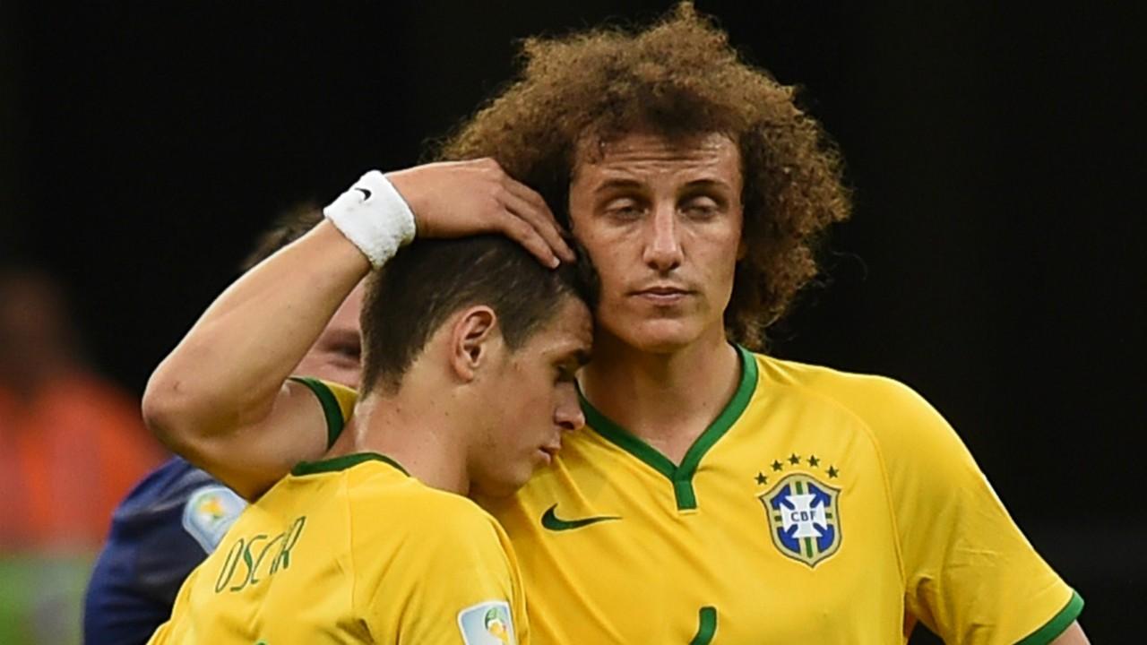 David Luiz Oscar Brazil