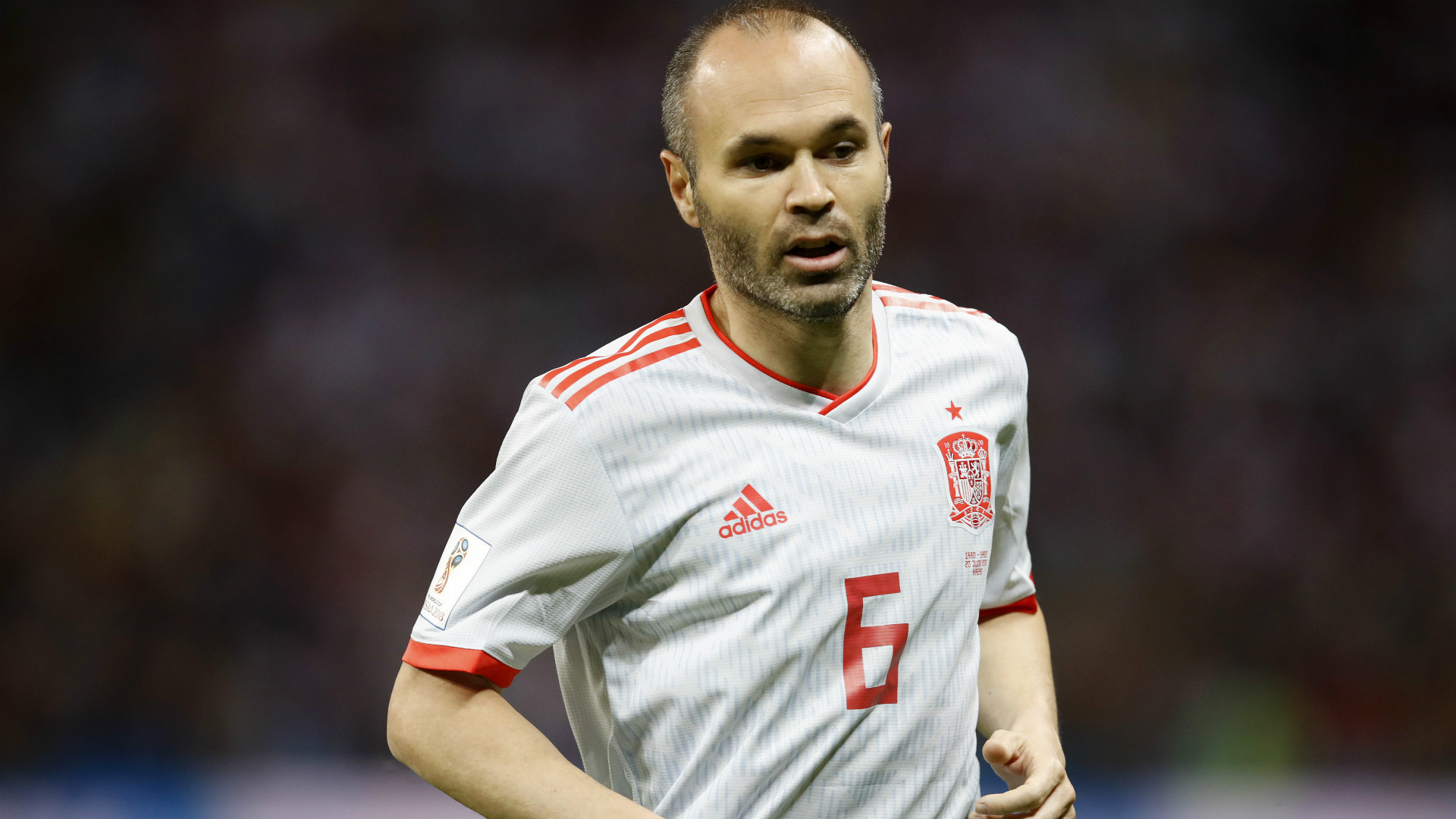 Andres Iniesta Iran Spain World Cup 2018