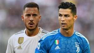 Eden Hazard Cristiano Ronaldo