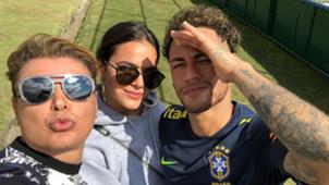 Neymar, Bruno Marquezine e David Brazil - 26/05/2018