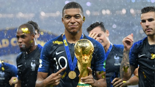 Resultado de imagen para mbappe world cup