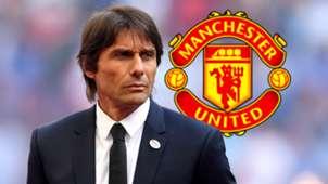 Antonio Conte Manchester United GFX
