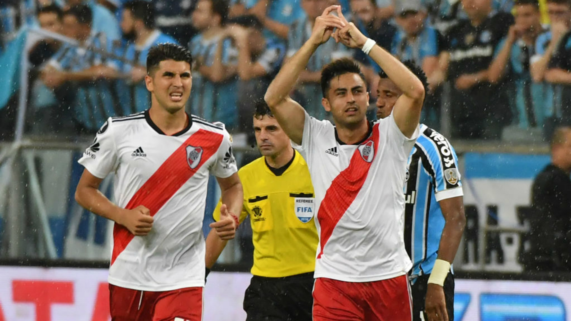 Gonzalo Martínez Grêmio River Plate Copa Libertadores 30102018