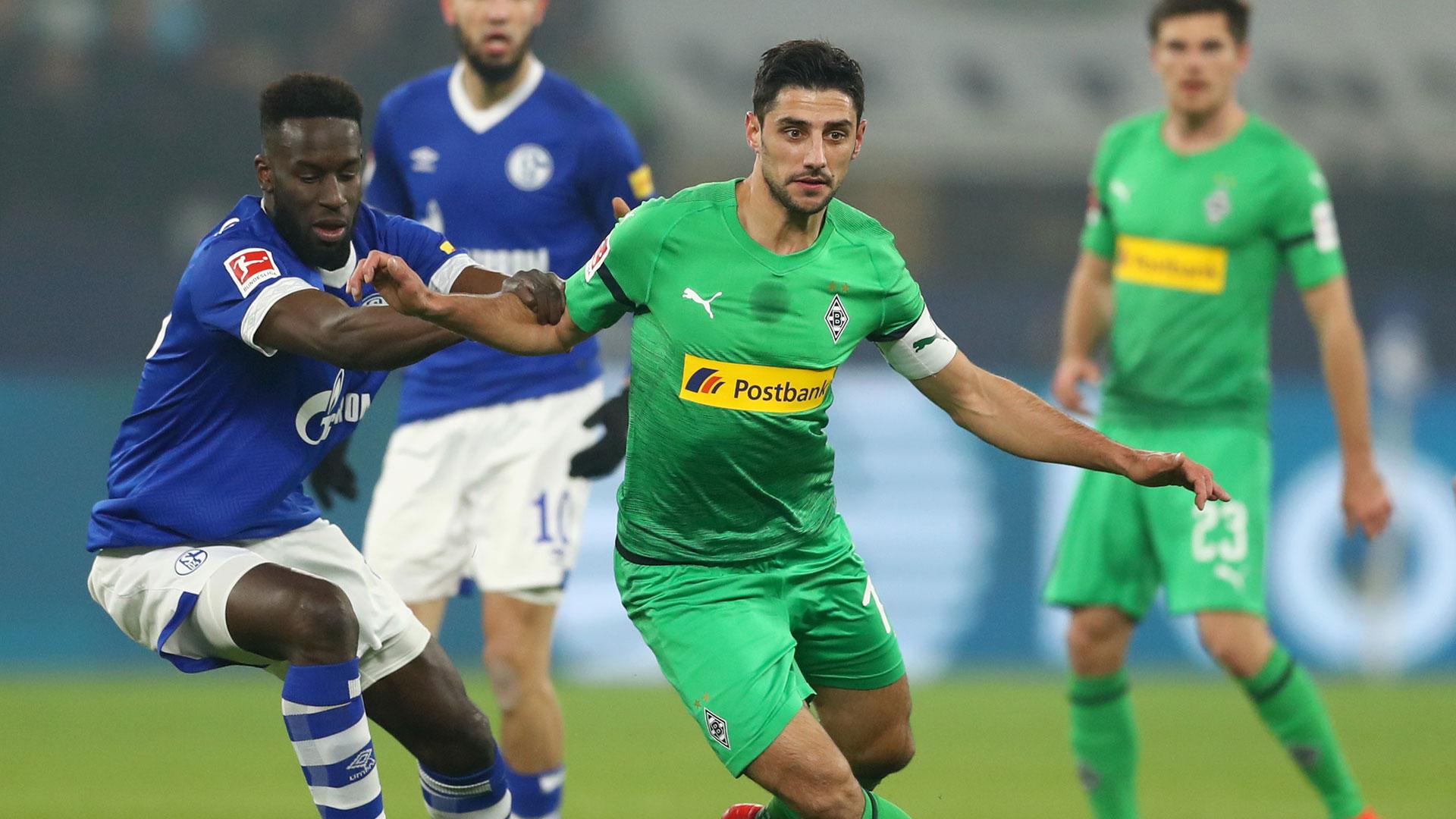 Lars Stindl Borussia Mönchengladbach Schalke 04 Bundesliga 02022019