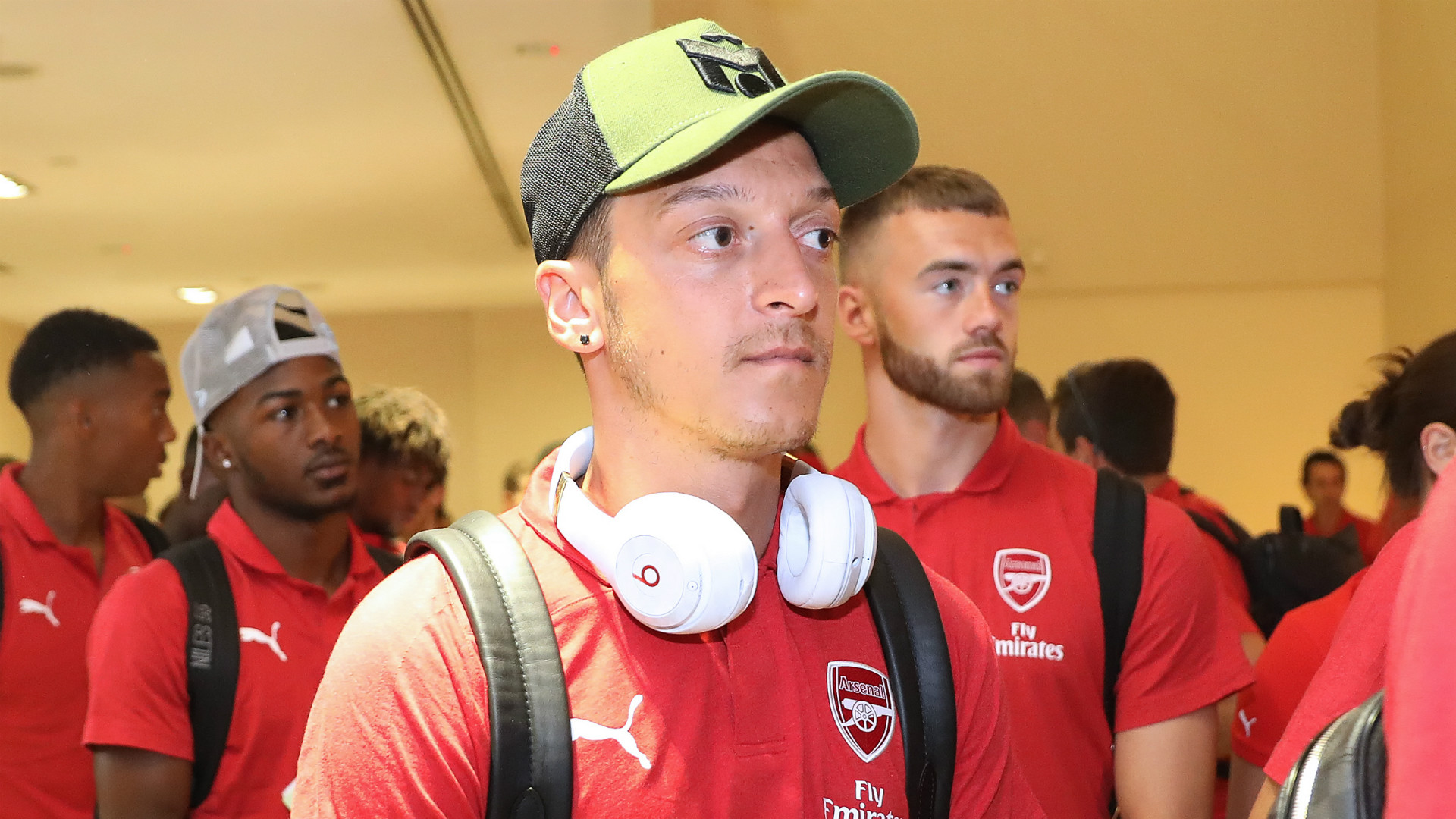 Mesut Ozil Arsenal ICC 2018 Singapore