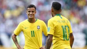 Neymar Coutinho Brasilien 02072018