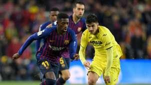 Ousmane Dembele Barcelona vs Villarreal La Liga 2018-19