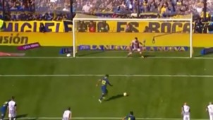 CAPTURA TV Boca Talleres Tevez Superliga argentina 120818
