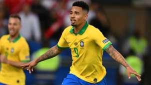 Gabriel Jesus Brazil Peru Copa America 2019 final