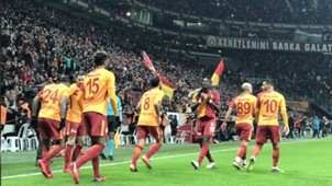 Galatasaray goal celebration Antalyaspor 02122018