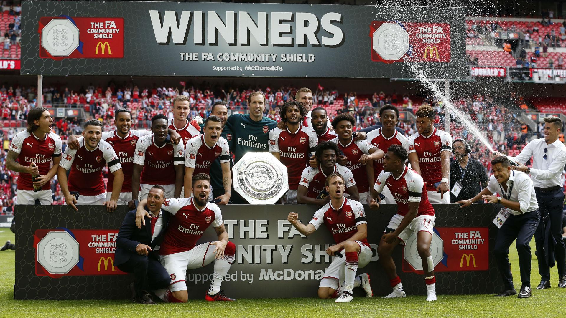 Arsenal Community Shield 2017