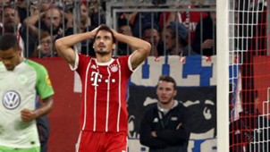 Mats Hummels Bayern Munich Wolfsburg 092217