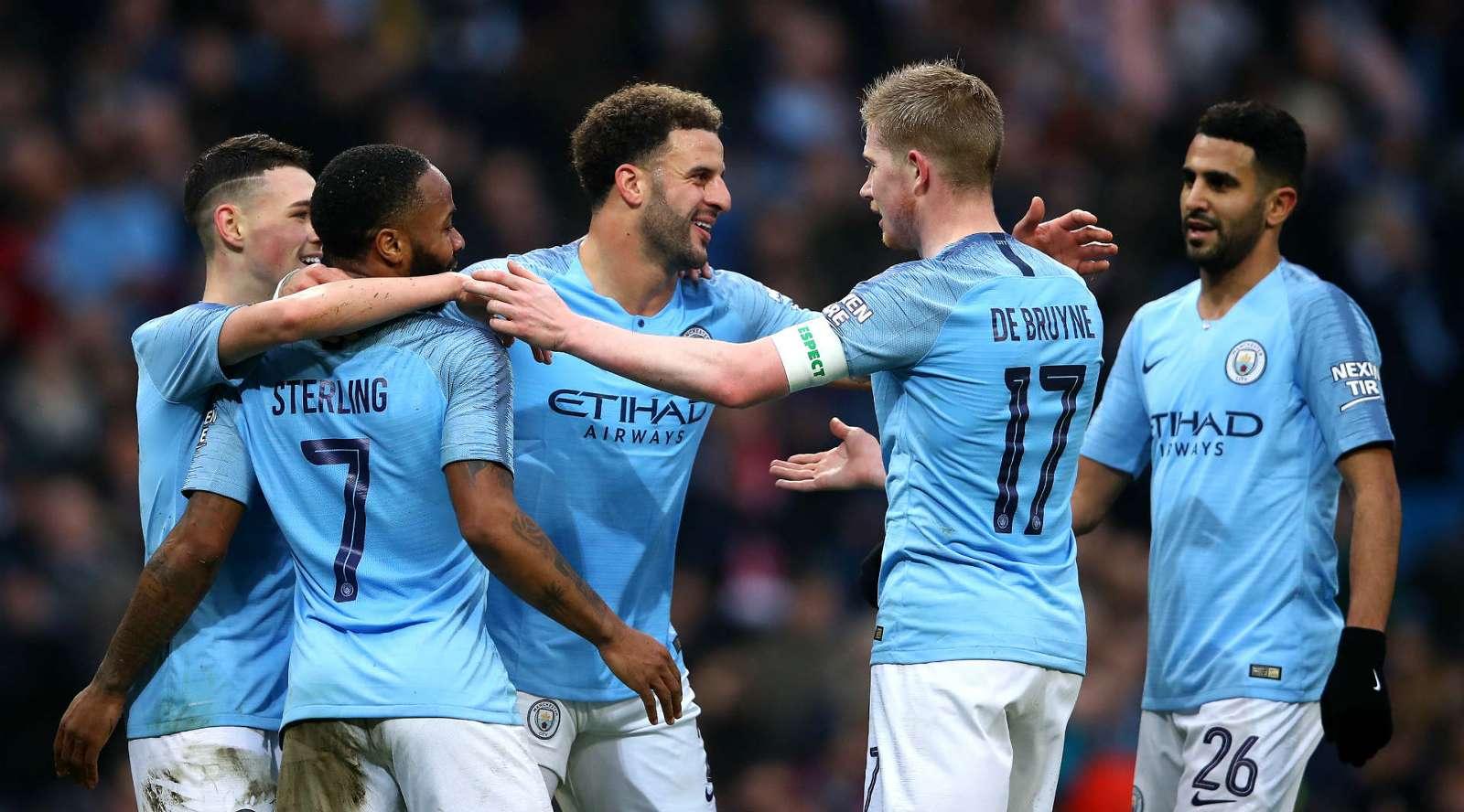 Manchester City-Rotherham 7-0, Man City s