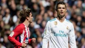 Antoine Griezmann Atletico Madrid Cristiano Ronaldo Real Madrid