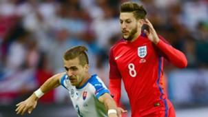 Adam Lallana England Euro 2016