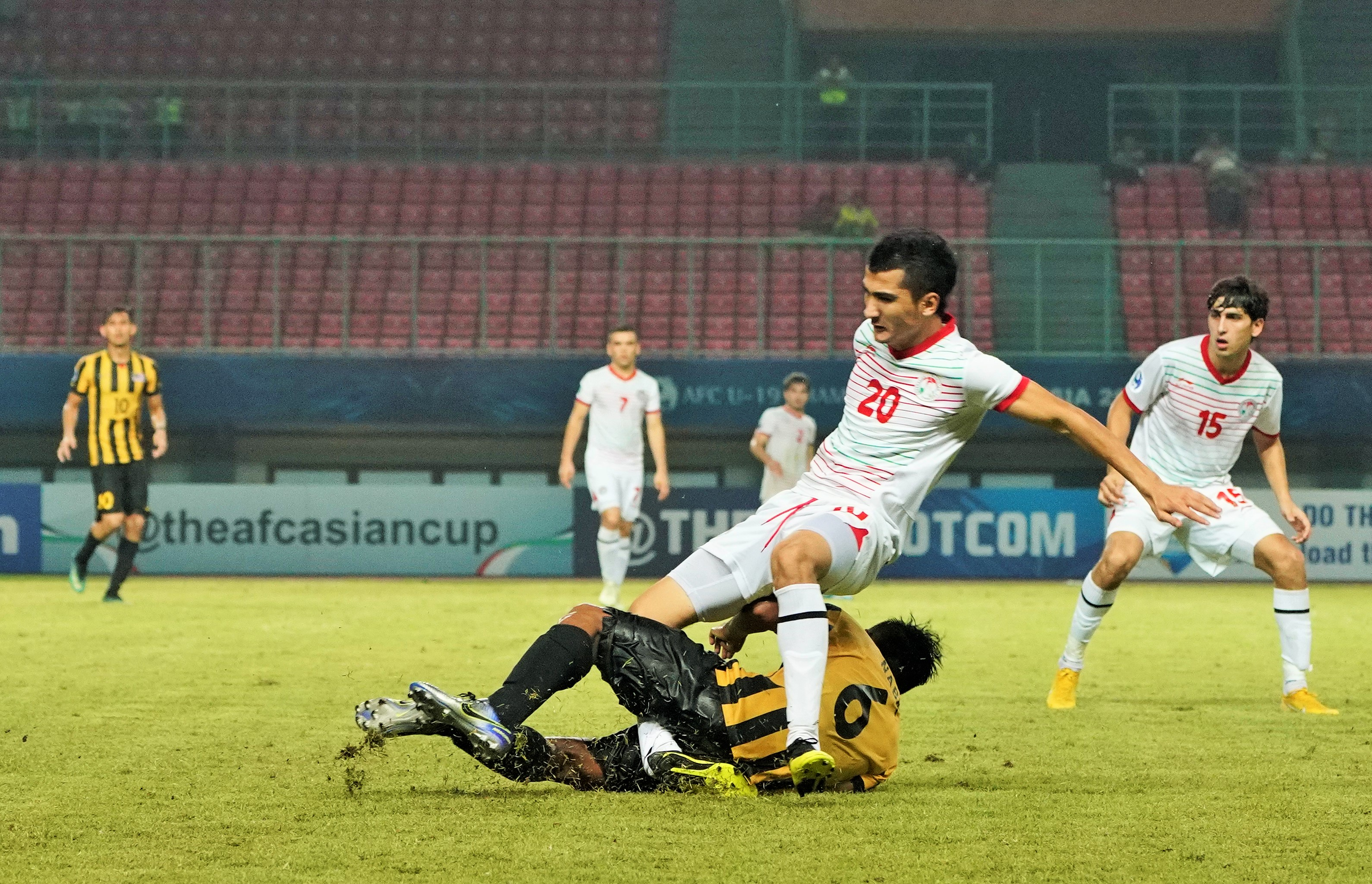 Ziyovuddin Fuzaylov, Tajikistan U19, AFC U19 Championship, 23102018