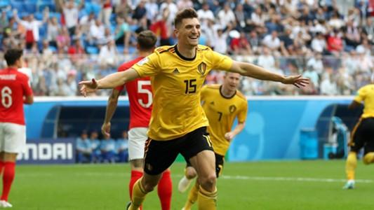 Thomas Meunier Belgium England WC 2018