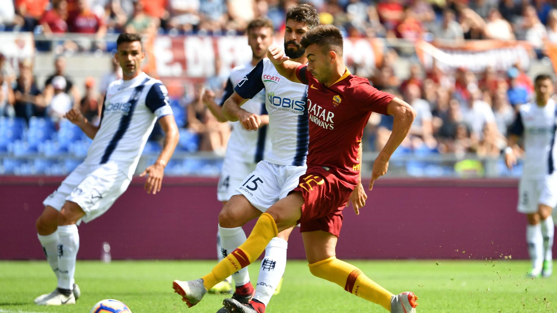Stephan El Shaarawy Roma Chievo Serie A 09162018